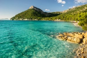 formentor beach in Majorca