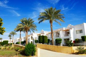 The holiday villas at luxury hotel, Sharm el Sheikh, Egypt