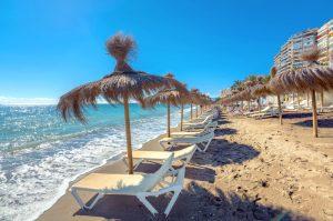 Malaga beach, Andalusia, Spain