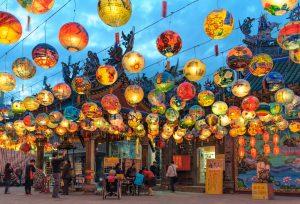 Pu Ji Temple Lantern Festival