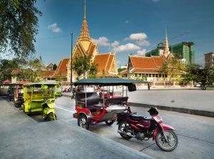 Tuk Tuk car - Phnom Penh city - Cambodia