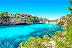 Cala Santanyi Mallorca Spain coastline